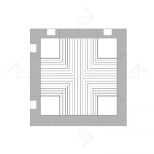 Possibilità di innesti laterali aggiuntivi al canale di linea